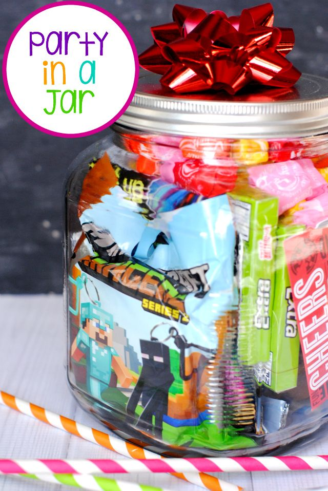 Birthday Box Party In A Jar Best Of Pinterest Pinterest