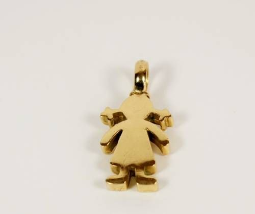 colgante nia oro colgante de oro collar nia