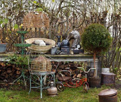 Jardines vintage pinterest buscar con google jardines for Decoracion jardin vintage