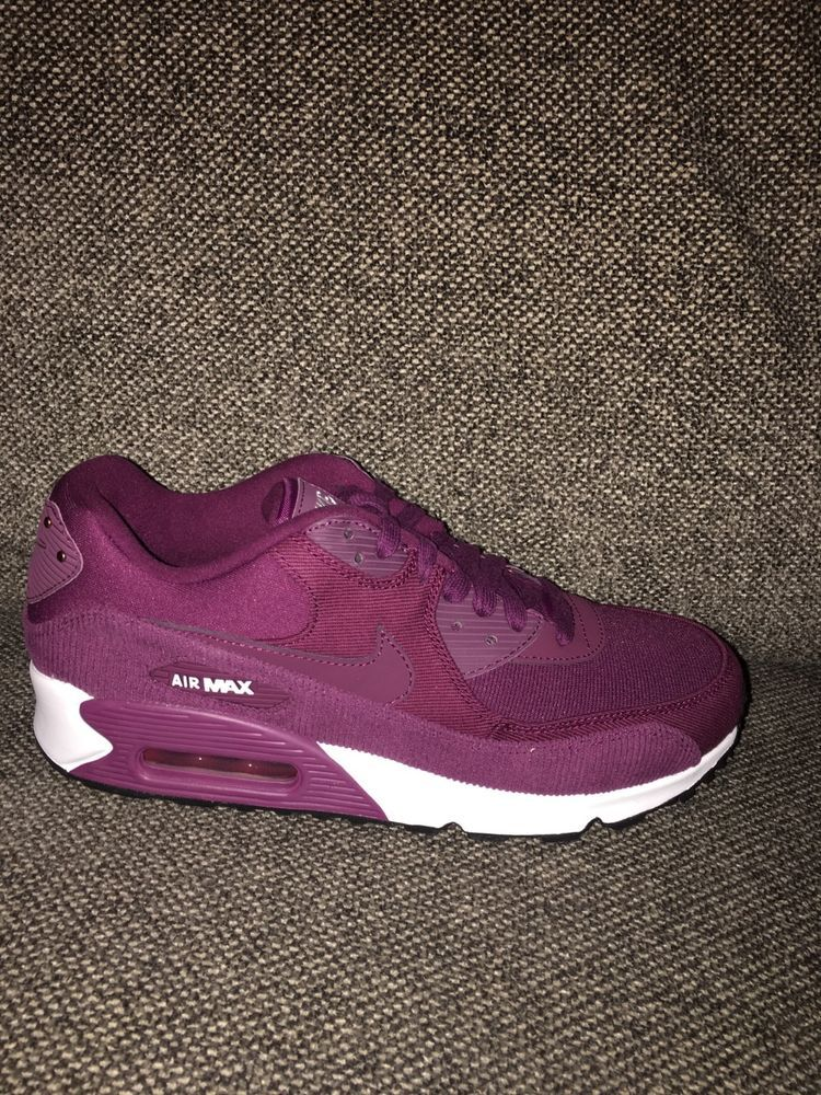 c3b3d66e4e WOMENS NIKE AIR MAX 90 LEA BORDEAUX 921304-601 PURPLE RUNNING RETRO AM90  #fashion #clothing #shoes #accessories #womensshoes #athleticshoes #ad  (ebay link)