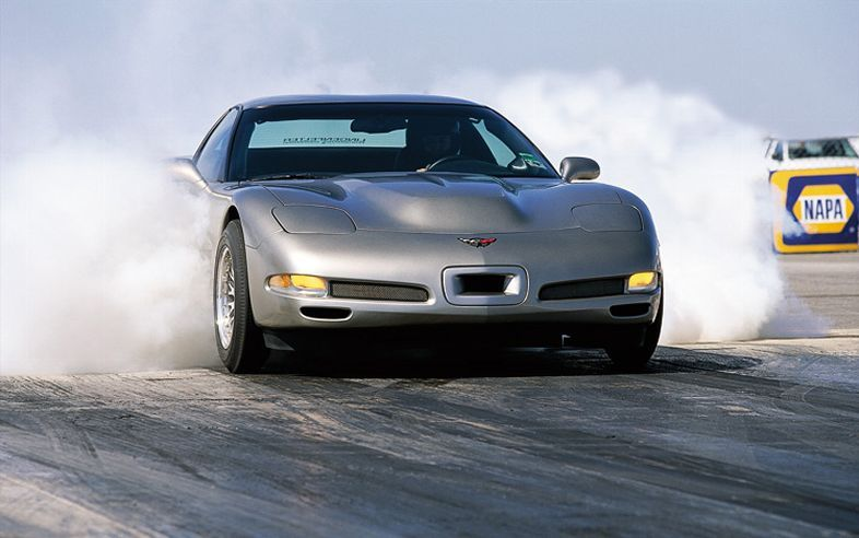 2002 Chevrolet Corvette Lingenfelter A Real Burnout
