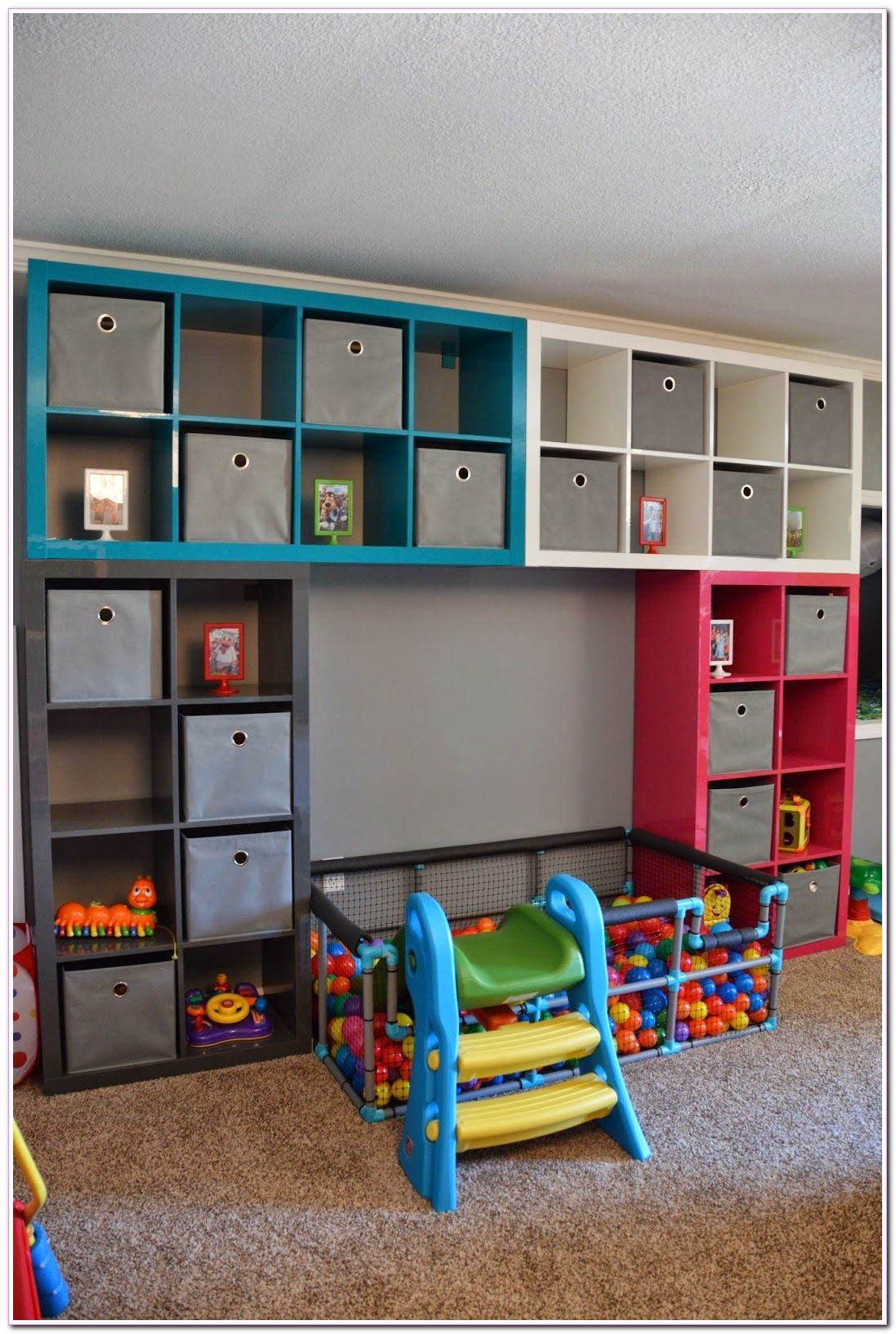 living room storage for toys organizing in 2020