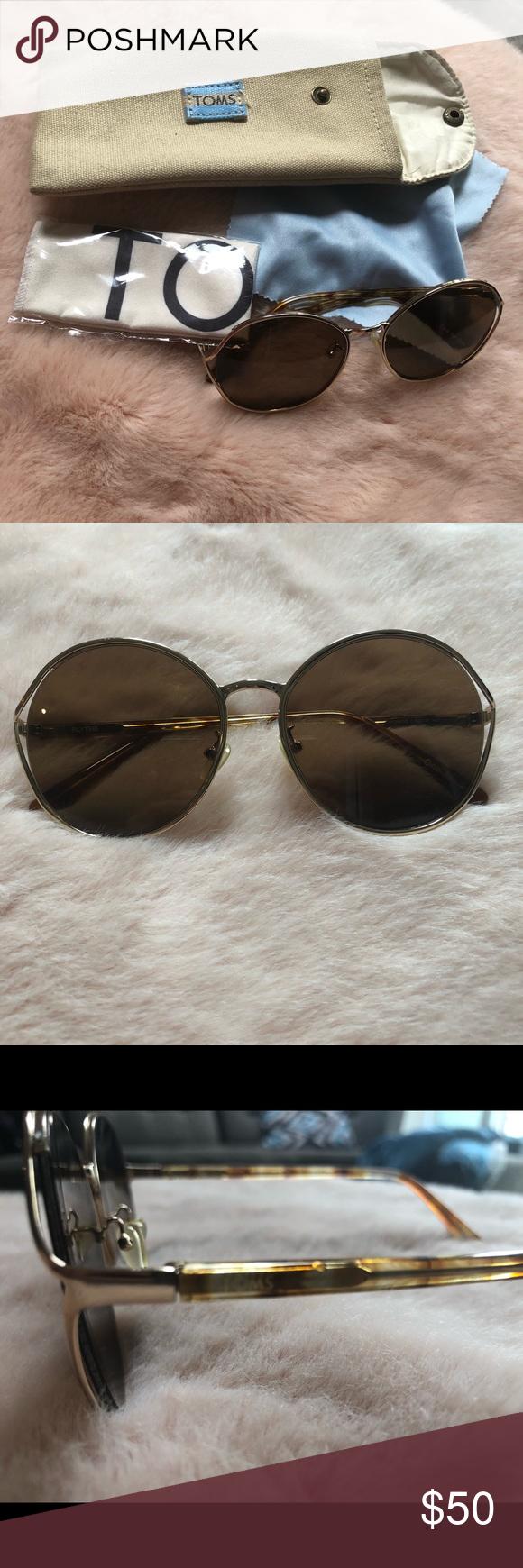 ba7f0e9575d Authentic Toms Sunglasses EUC condition