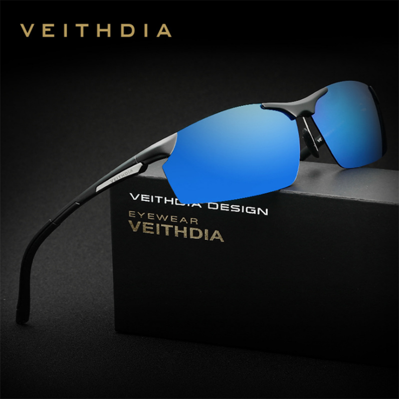 69ebc16b81 VEITHDIA Aluminum Magnesium Sunglasses Polarized Sports Men Coating Mirror Driving  Sun Glasses oculos Male Eyewear 6511