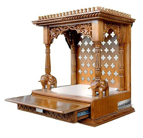 Wooden Puja Cabinet - Google Search