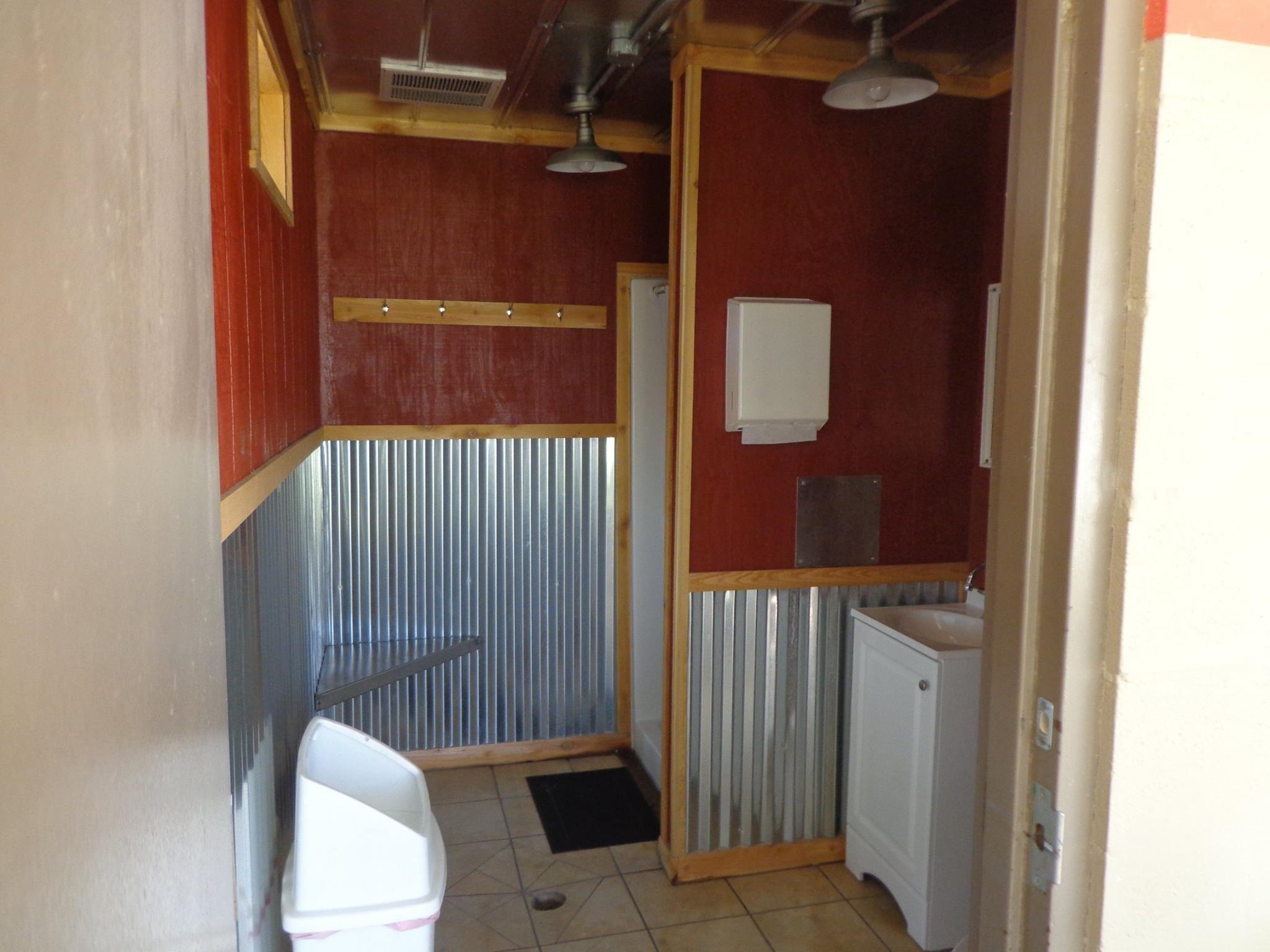 New family style restrooms at the Fredericksburg, TX KOA ...