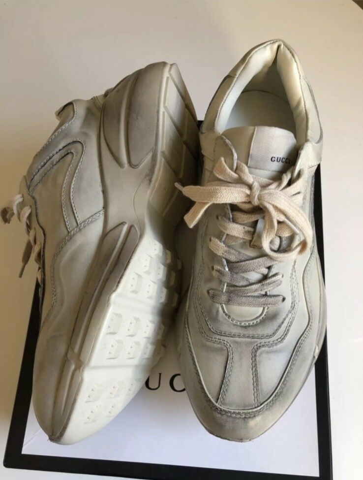 449891e89ae Gucci Rhyton Distressed Sneaker - Mens 10 NWB  fashion  clothing  shoes   accessories  mensshoes  casualshoes (ebay link)