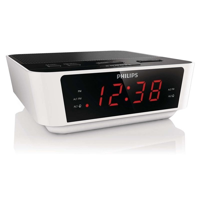 Tuning Dual Alarm Clock Fm Radio