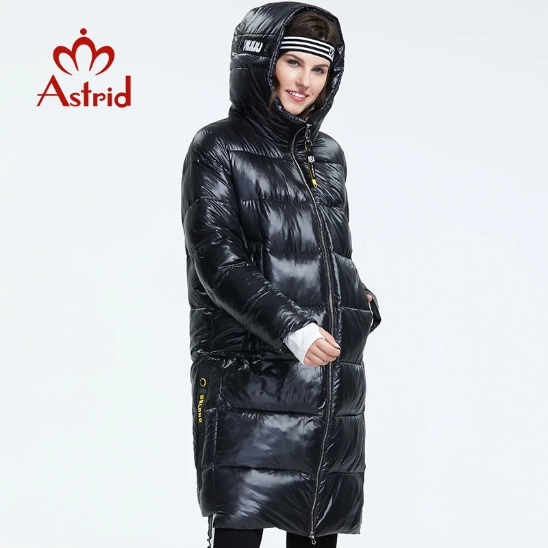 Astrid Winter Down Jacket Women With A Hood Fashion Style