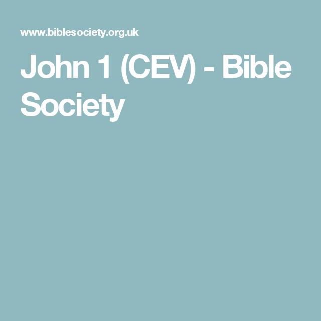 Bible Cev Blue