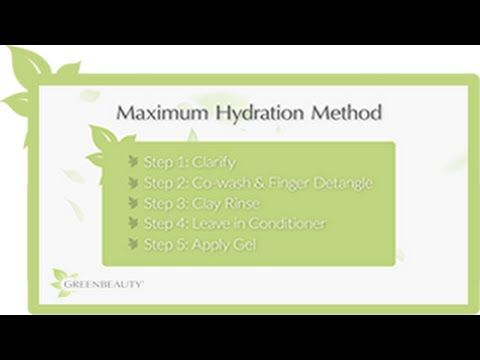 101 on the Maximum Hydration Method (for length retention) - YouTube