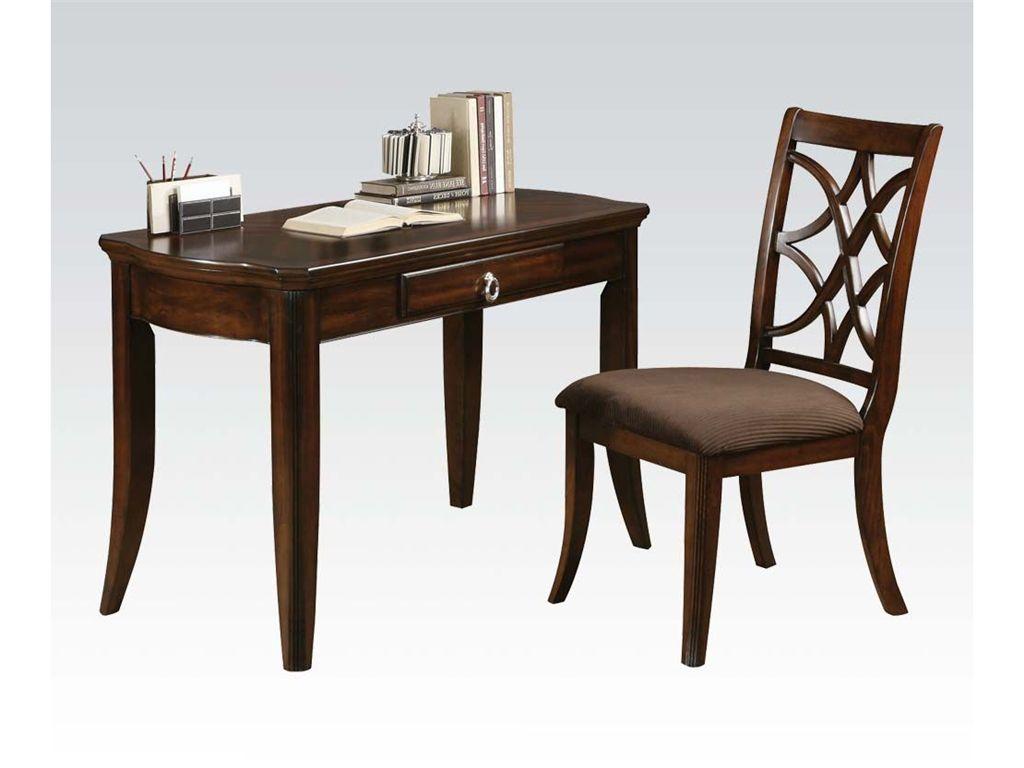 Acme Furniture Home Office Desk And Chair 92082   Michaelu0027s Fine Furniture    Portland, ...