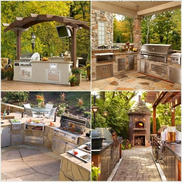 5 Perfectly Amazing Outdoor Kitchen Layout Ideas Outdoor Kitchen