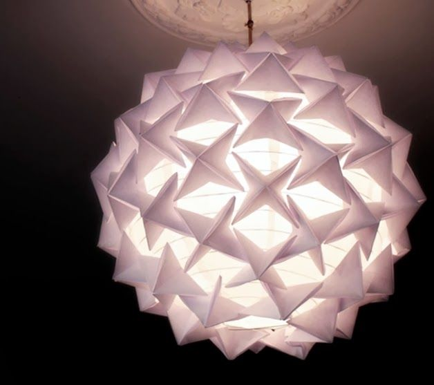 7 Weekend Projects To Try Origami Lamp Origami Lantern Paper