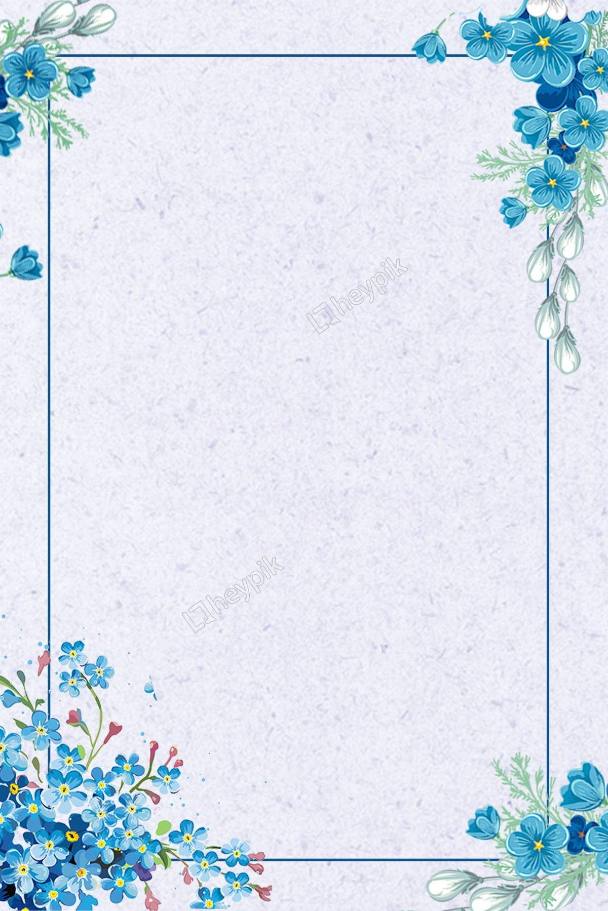 blue flowers lines the summer solstice? background vector from heypik.com