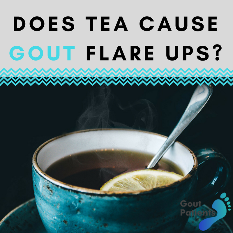 Black tea will cause flare ups while other ones won't ...