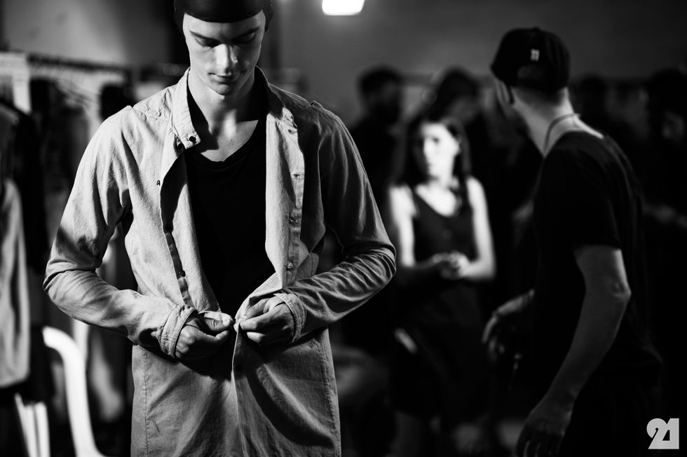 Le 21ème / Backstage at Boris Bidjan Saberi, Spring/Summer 2015 | Paris  // #Fashion, #FashionBlog, #FashionBlogger, #Ootd, #OutfitOfTheDay, #StreetStyle, #Style