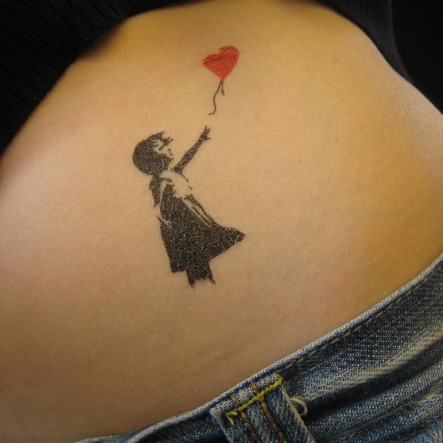 artlyst banksy tattoo