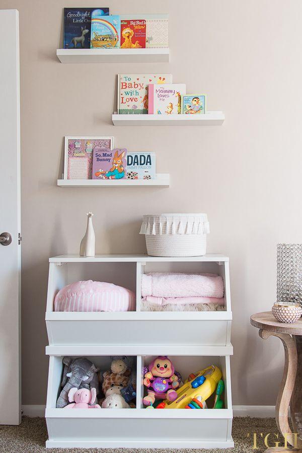 Nursery Toy Storage Ideas For Small