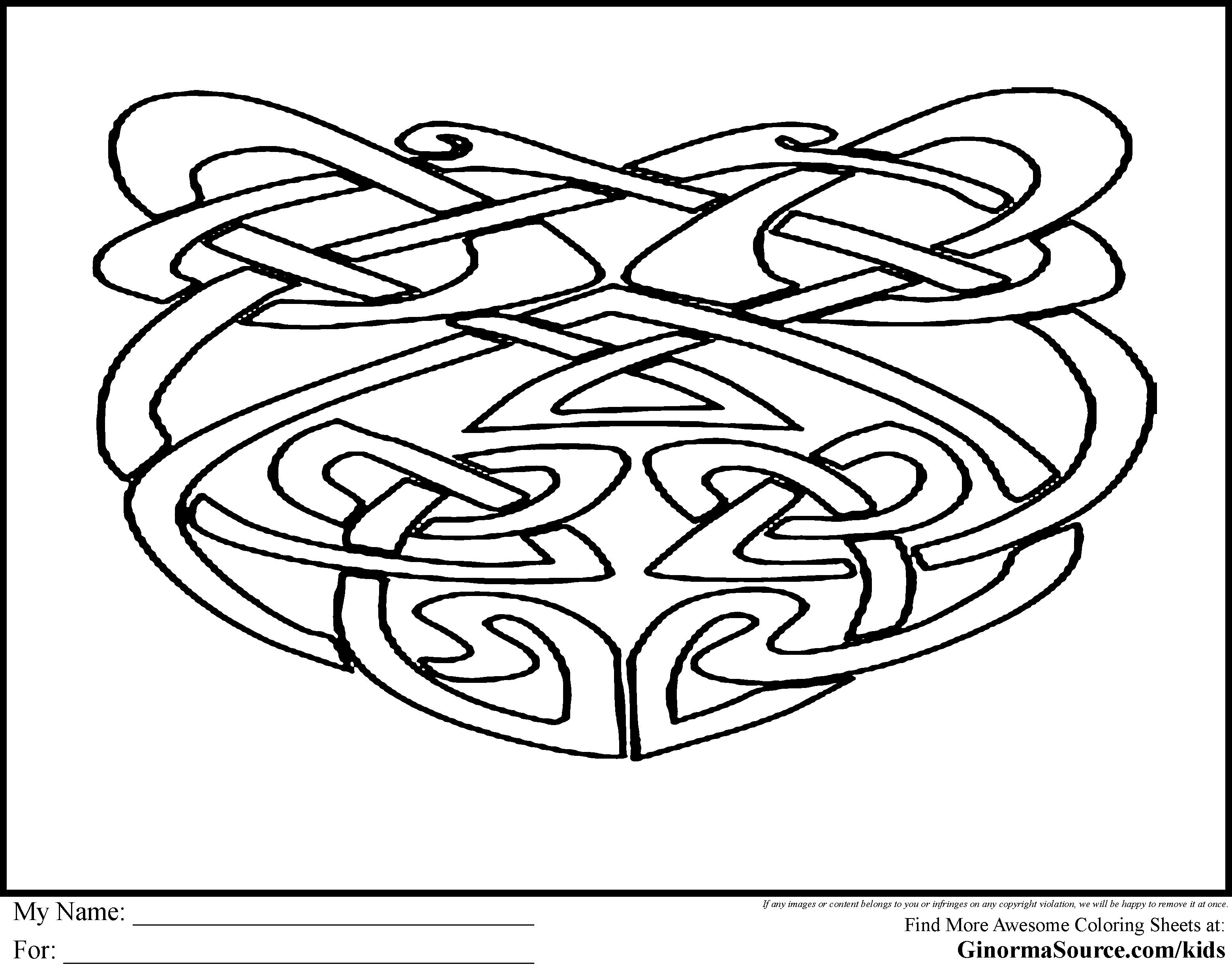 Großzügig Malvorlagen Für Kinder Aus Geometrischen Formen Fotos ...