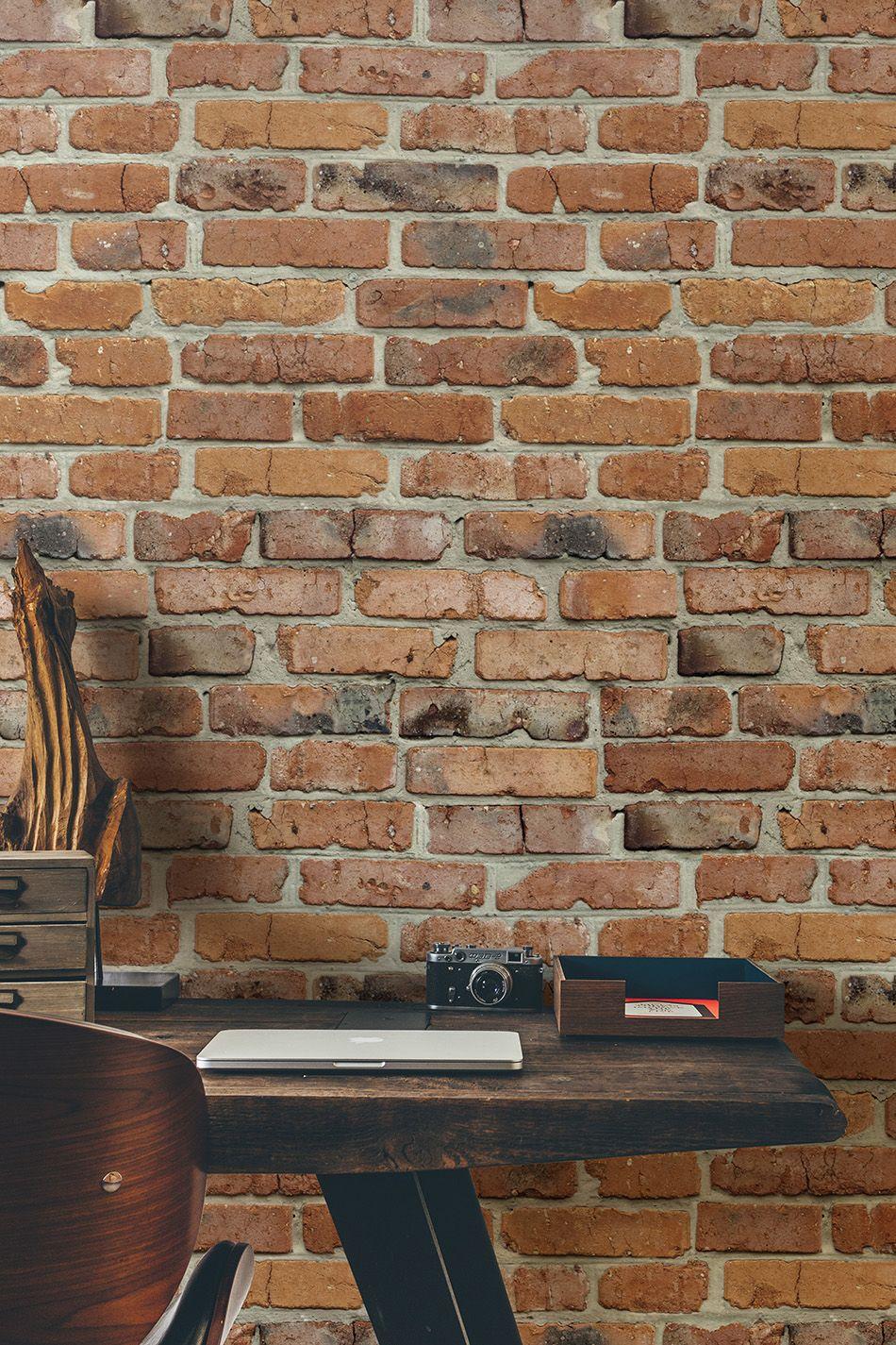 Papeles Pintados Sorprendentes Ladrillo Miltonking Jpg 950 1425  ~ Papel De Pared Imitacion Ladrillo