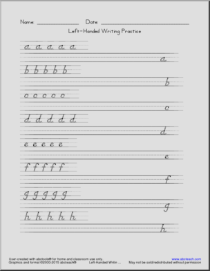 13++ Left hand writing worksheets Popular
