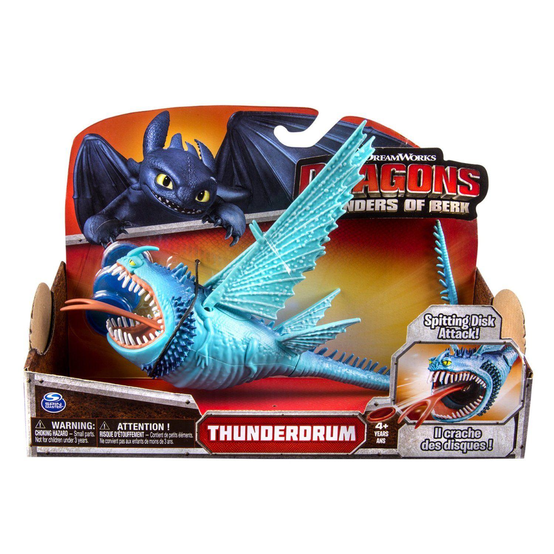 Dreamworks Dragons Defenders Of Berk  Action Dragon Figure  Thunderdrum:  Amazon: