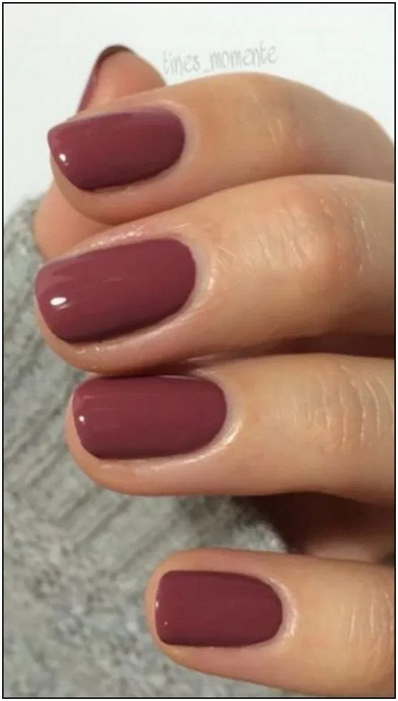 The 180+ trendiest fall nail colors + fall nails inspiration 21 | cynthiapina.me #gelnails