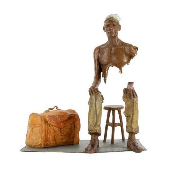 Bruno Catalano - Sculpture Le Napolitain