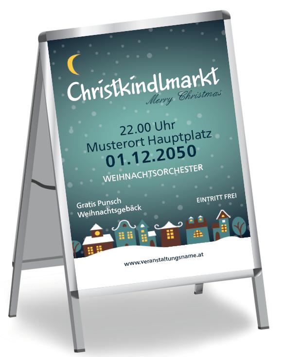 Plakate Fur Weihnachts Und Adventmarkte Online Gratis Gestalten Christkindlmarkt Winterlich Punsch Xmas Adve Plakat Gestalten Plakat Weihnachtlich Motive