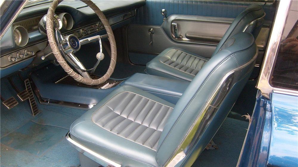 1964 Ford Galaxie 500 Xl Fastback Interior 137753 Ford