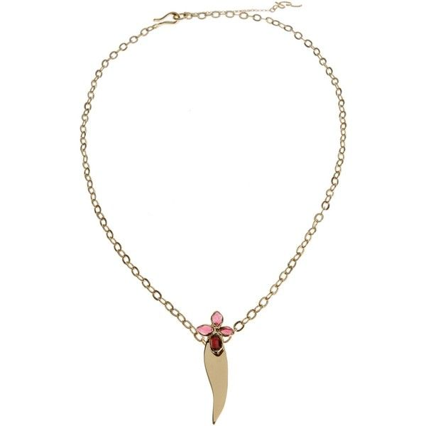 Yi Zhou Necklace ($275) ❤ liked on Polyvore featuring jewelry, necklaces, couture jewelry, hippie necklaces, hippy jewelry, hippie jewelry and jewel necklace