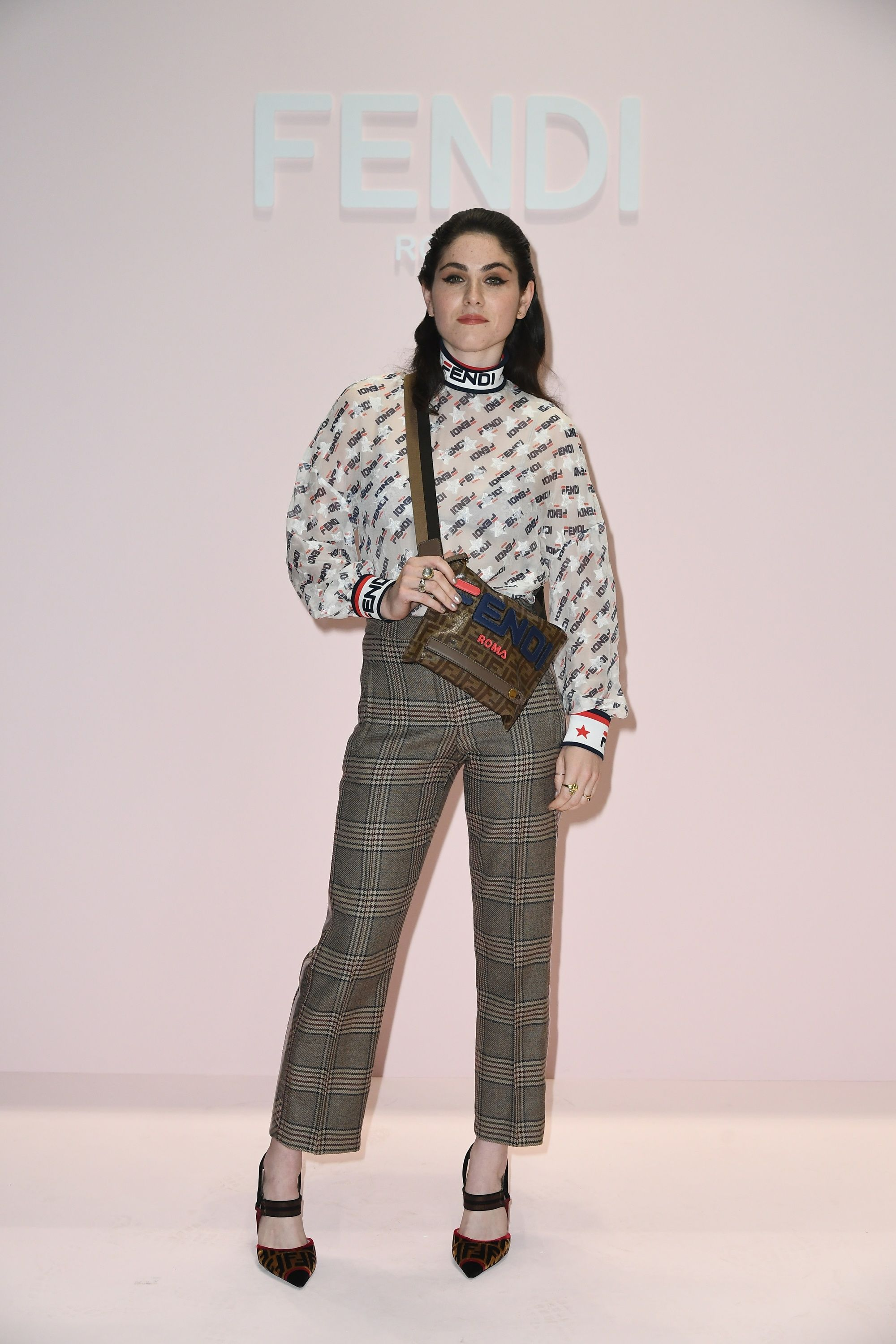 31792d64e2 Emily McEnroe at the Fendi Women s Spring Summer 2019 Fashion Show ...