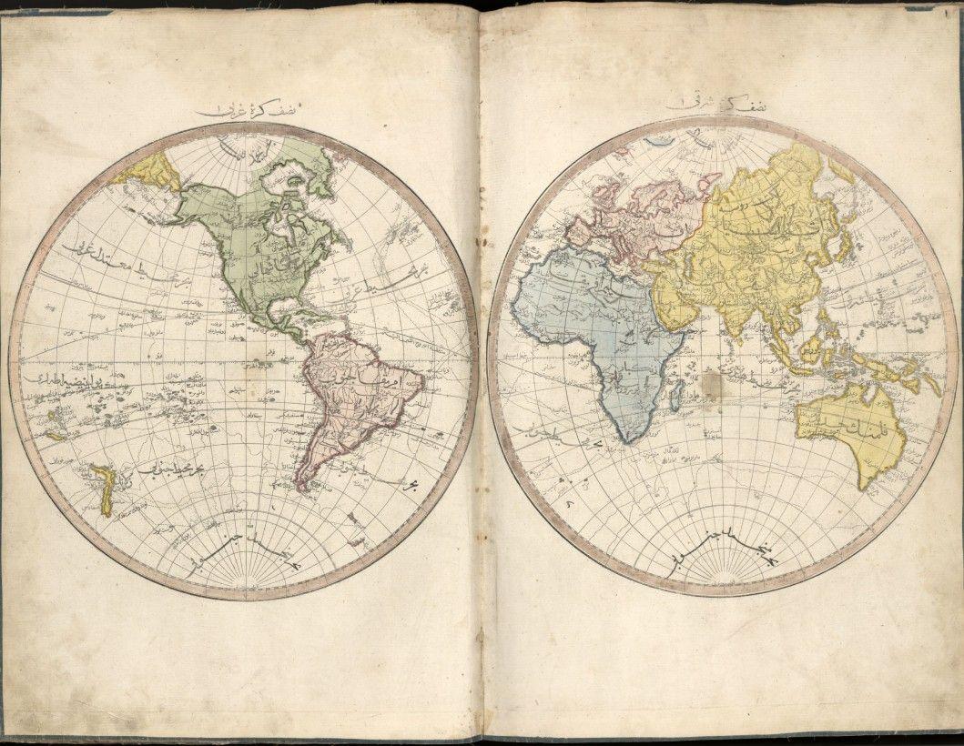 Epingle Sur Islamic Map
