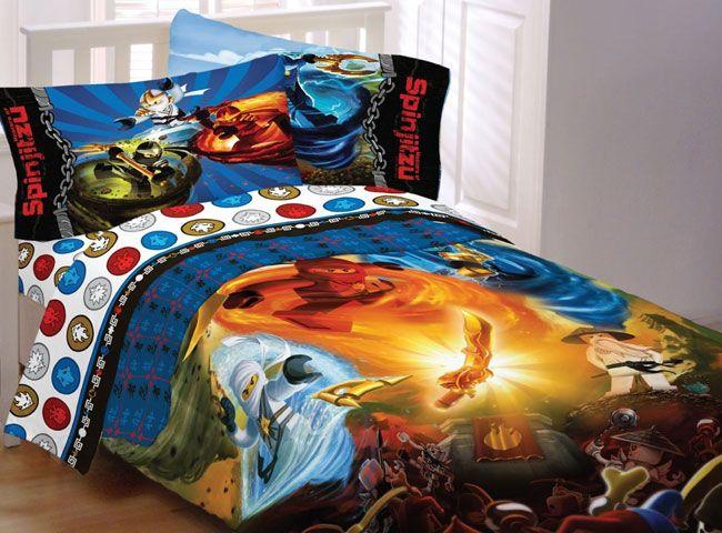 Lego Ninjago Ninja Masters Bed Set Lego Bedding Single Bedding