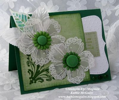 Design Junkies: Vellum Floral and Greens