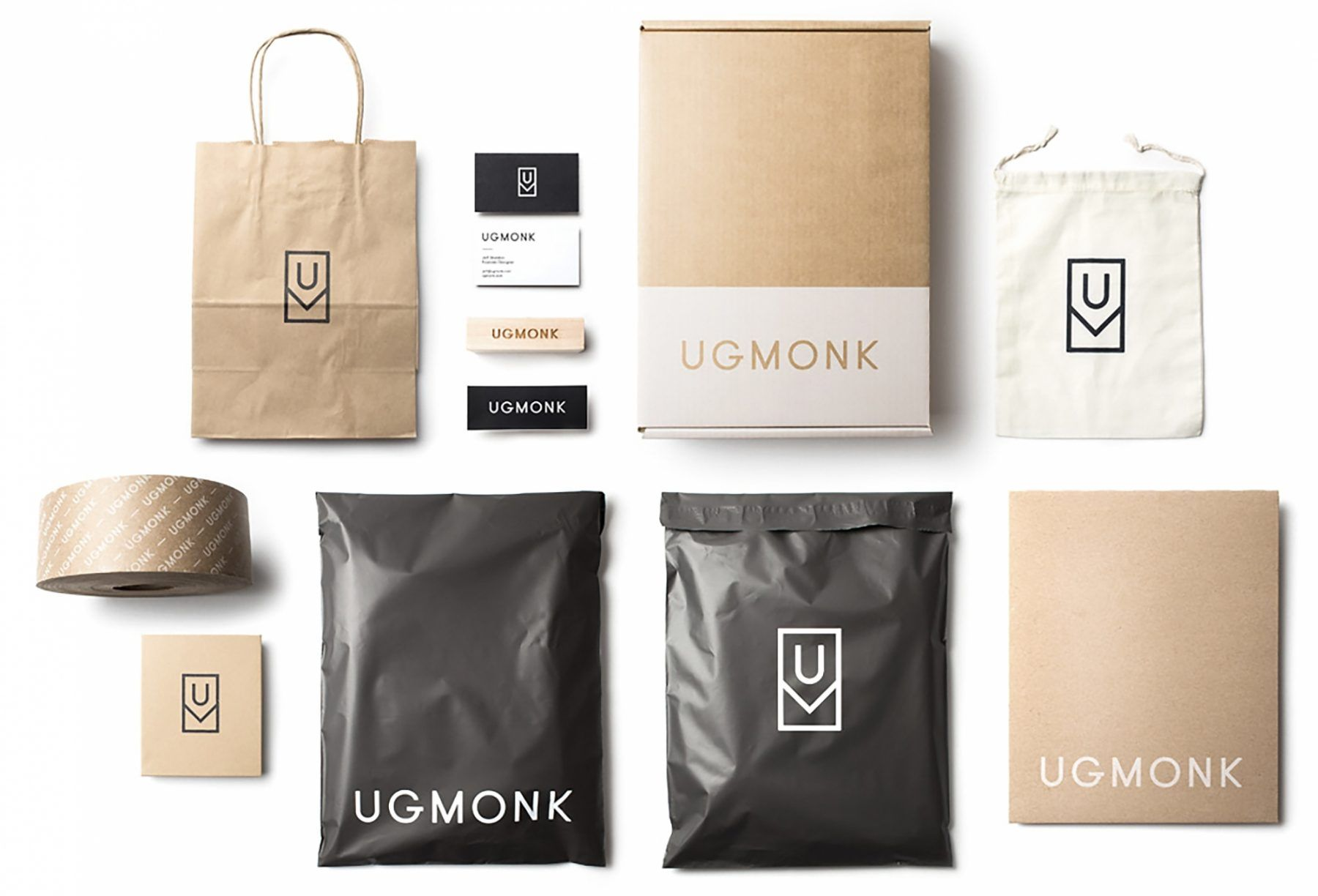 With Their Rebrand, Ugmonk Designed a New Suite of Custom