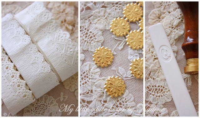 My little white home by Nadine: Kaarten met papierkant