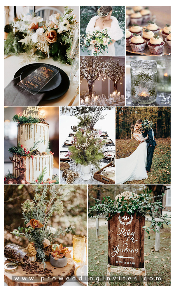 Non Holiday Themed Winter Wedding Ideas In December In 2020 Wedding Theme Inspiration Winter Wedding Colors Holiday Wedding Invitations
