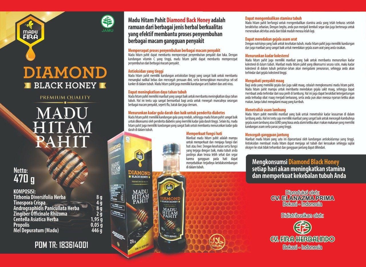 081383465701 Diamond Black Adalah Madu Hitam Pahit Yang Propolis Ratu Lebah Dapat Menyembuhkan Berbagai Penyakit Seperti Diabetes