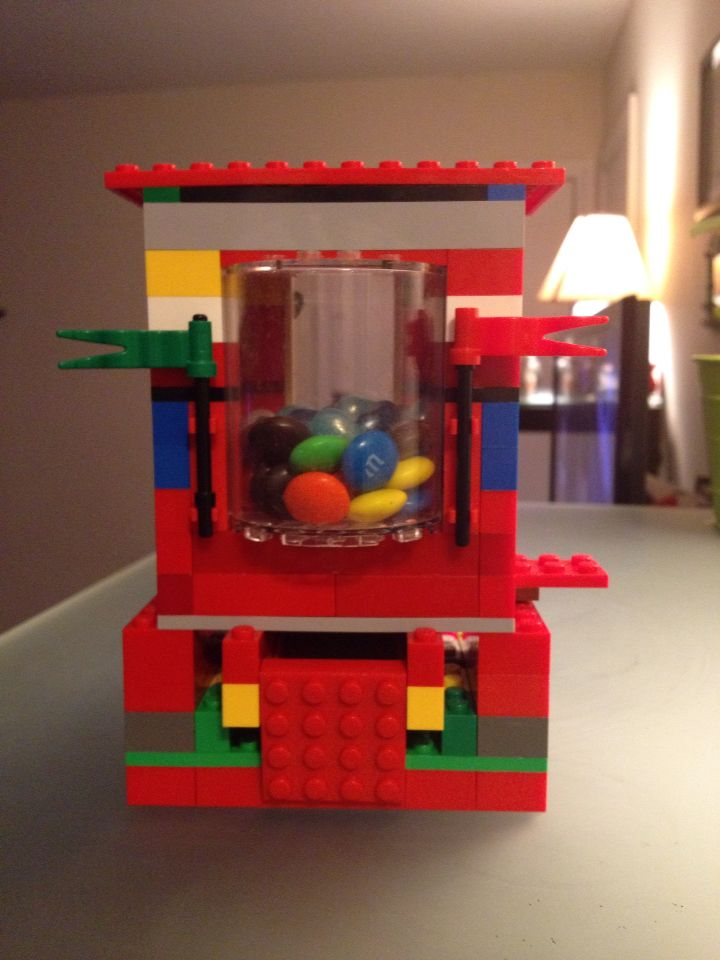 Our lego candy dispenser | Building brilliance...one Lego at a time ...