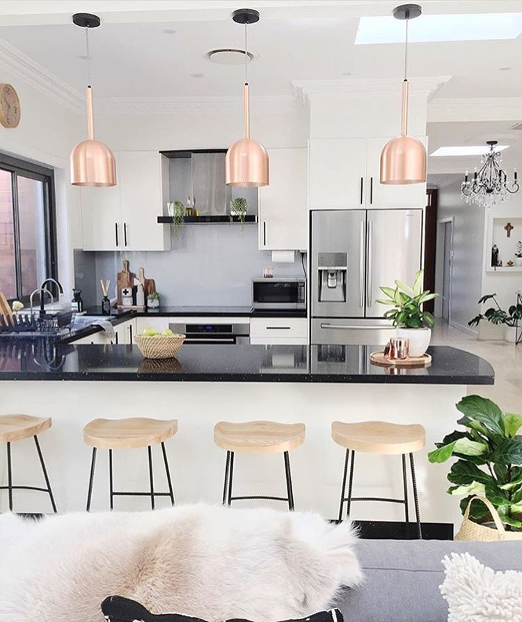 Beautiful Kitchen All The Way From Australia In Homesbycaz House Lovely Homedecor Decor Interiordesign Interior Kitchen Home Interior Home Decor
