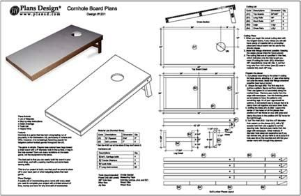 Corn Hole Plans manual guide wiring diagram