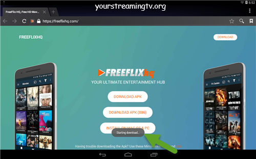 Free Flix HQ Android APK Install Guide Your Streaming TV