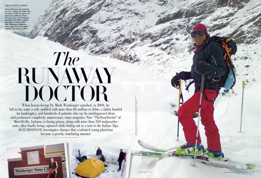 The Runway Doctor Vanity Fair January 2011 Doctor Italian Alps Luxury Love