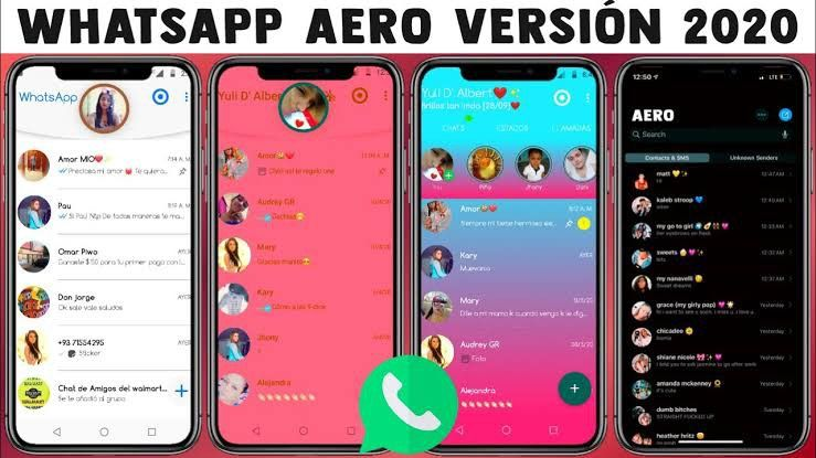 Pin on WhatsApp Aero Apk v8.36 Download