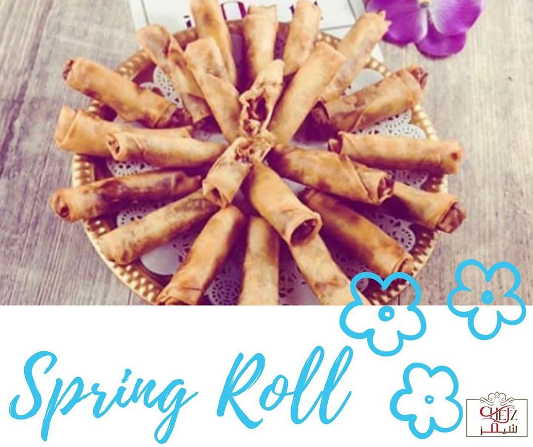 Spring Rolls☀️ A quick snack break is always a good idea!  Call now for home delivery! . . .