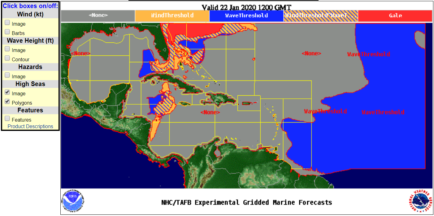 National Hurricane Center Introduces Polygon Based Marine Warnings In 2020 National Hurricane Center Hurricane Marine