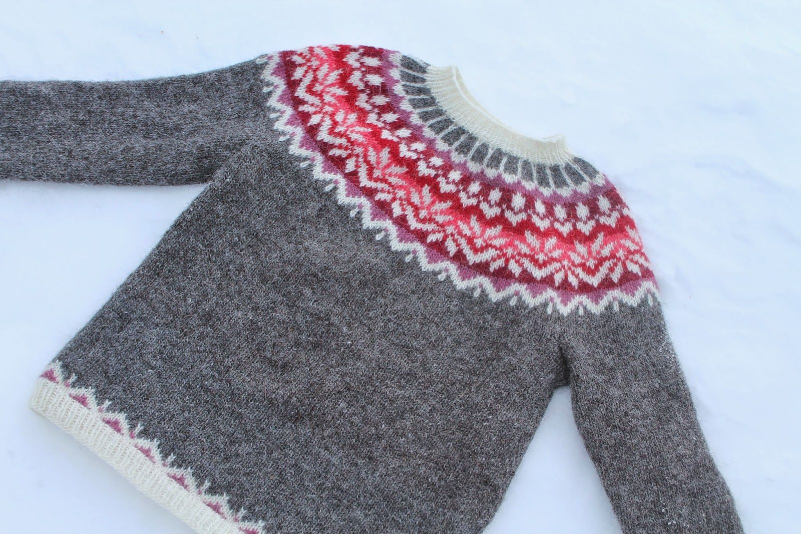 98ca4cd55d7c amazing selection 48323 8e960 fimma lopapeysa free knitting pattern ...