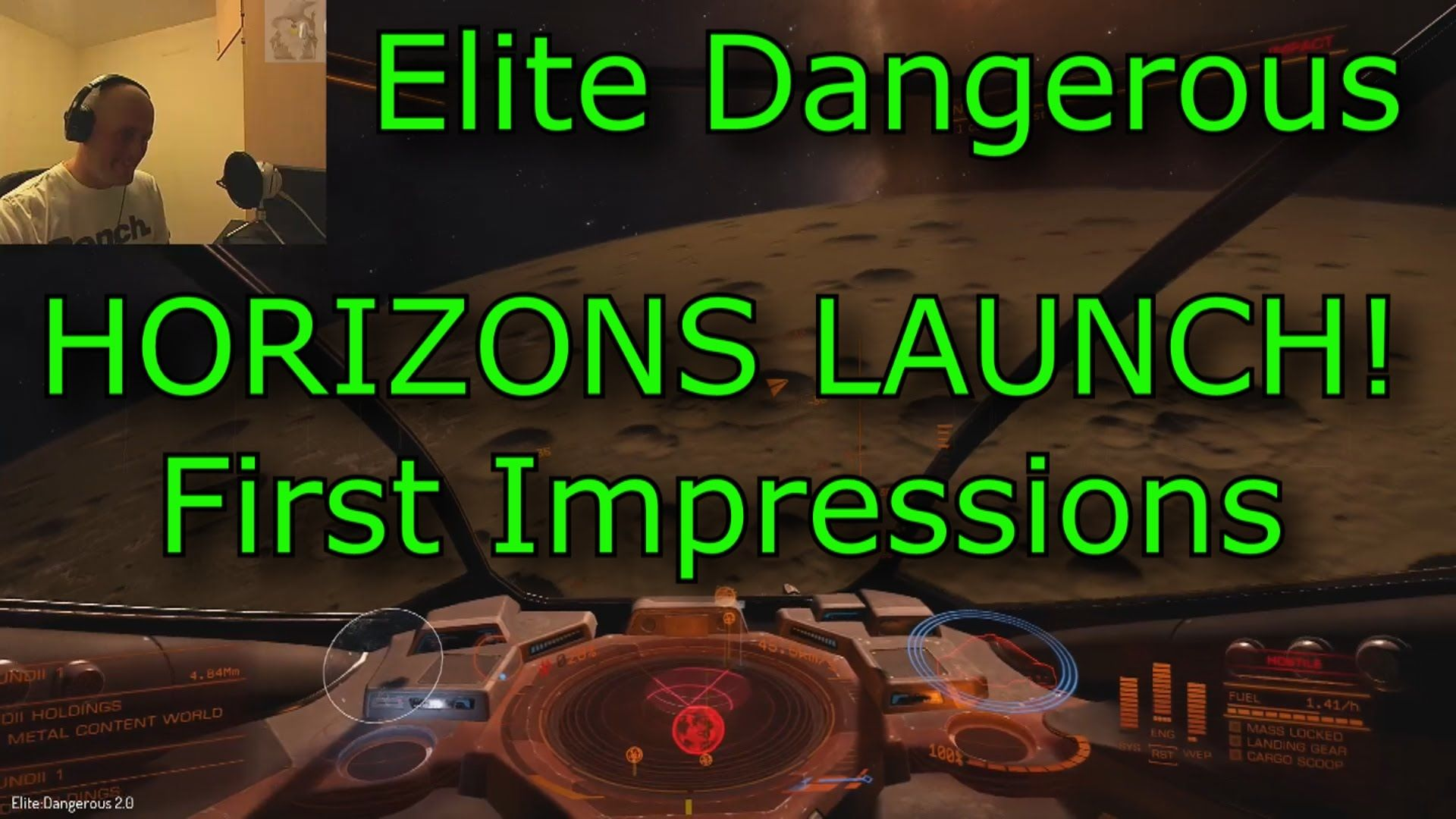 HORIZONS 1080p 60FPS - First Impressions on launch day - Elite: Dangerous